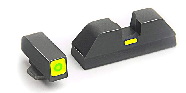 AmeriGlo CAP sights for the Glock 43