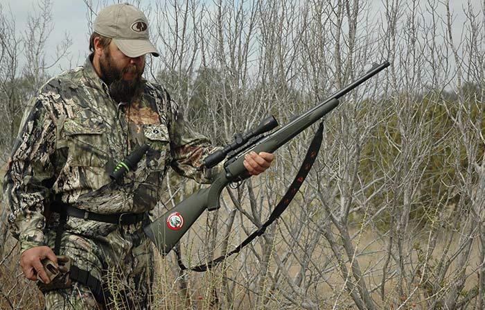 Hog Hunting with Savage Rifle