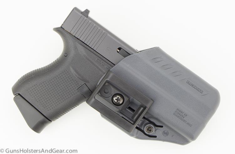 back side of ARC holster