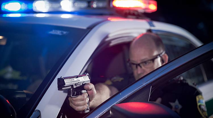 night sights for police on VP9