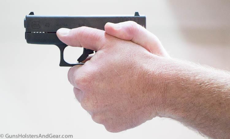 hands on Glock