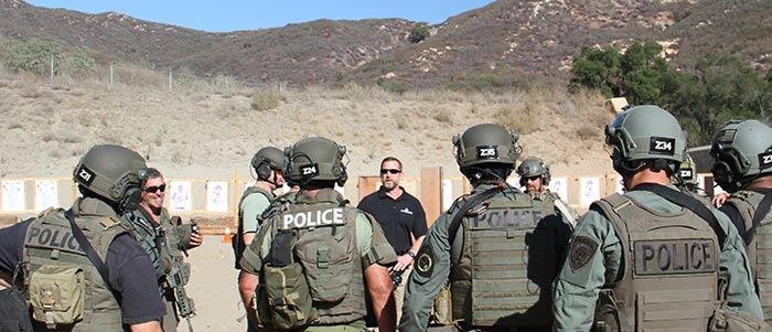 Chris Sajnog training police officers