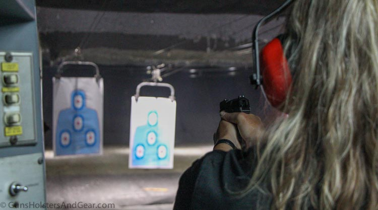 SCCY CPX-3 at the range
