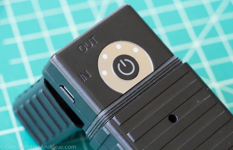 Streamlight 22600 controls