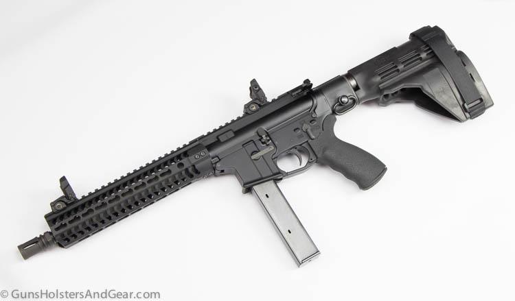 Black Creek Precision AR pistol 9mm