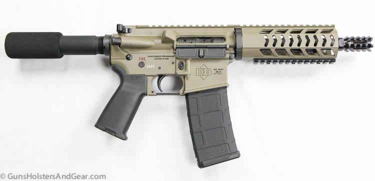 Diamondback pistol side view