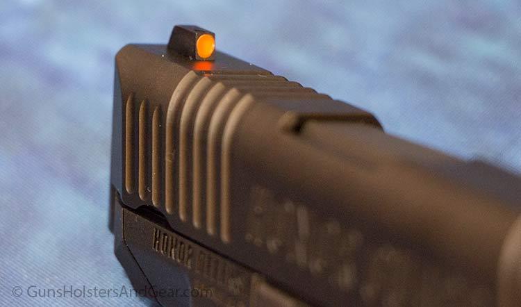 front sight on honor guard gun