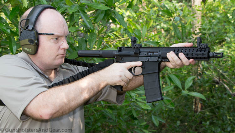 shooting with the Blackhawk sling