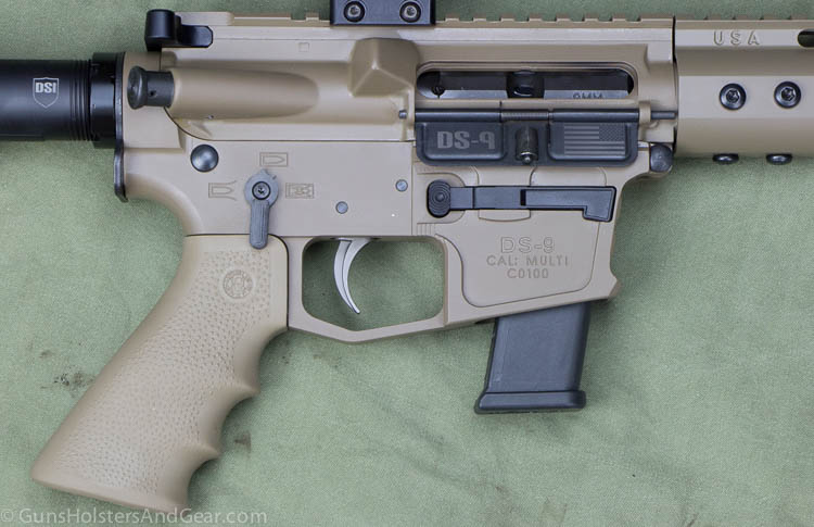 AR-15 that takes Glock magazines