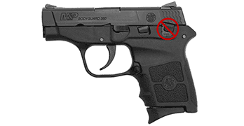Smith and Wesson Bodyguard 380 without thumb safety