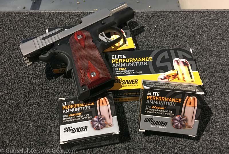 SIG SAUER ammunition review