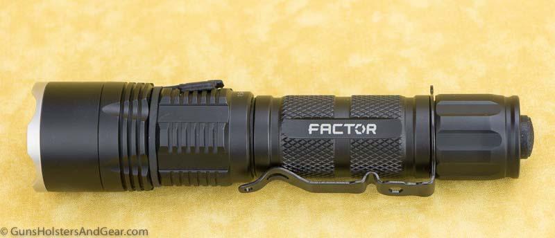 charging the factor flashlight
