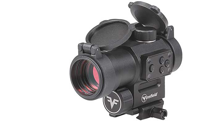 firefield impulse 1x30 red dot with laser