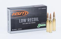 HSM Low Recoil ammo