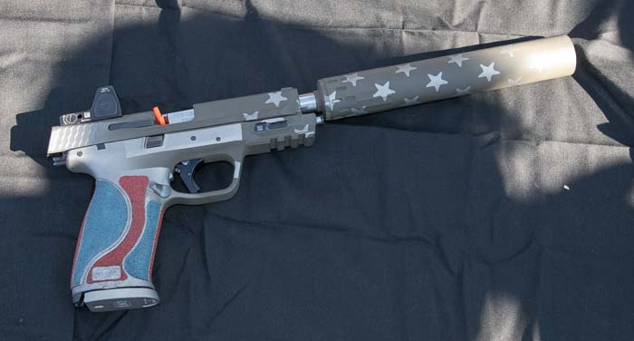 Smith & Wesson suppressed M&P