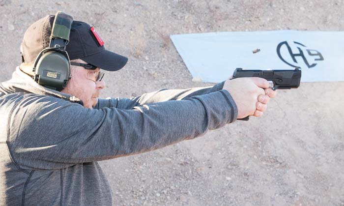 Shooting the Hudson H9