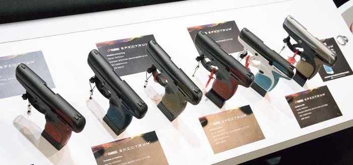 Taurus Spectrum color options