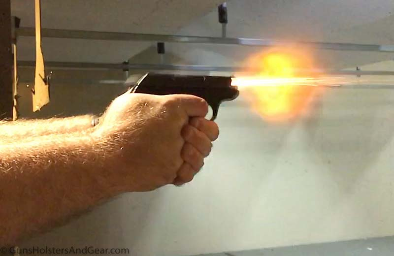 Shooting the Winchester Train and Defend ammo