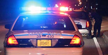 police traffic stop featured