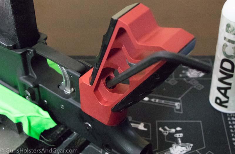 Installing Tyrant Designs pistol grip on AR-15