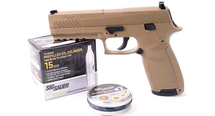 SIG P320 Air Pistol review featured image