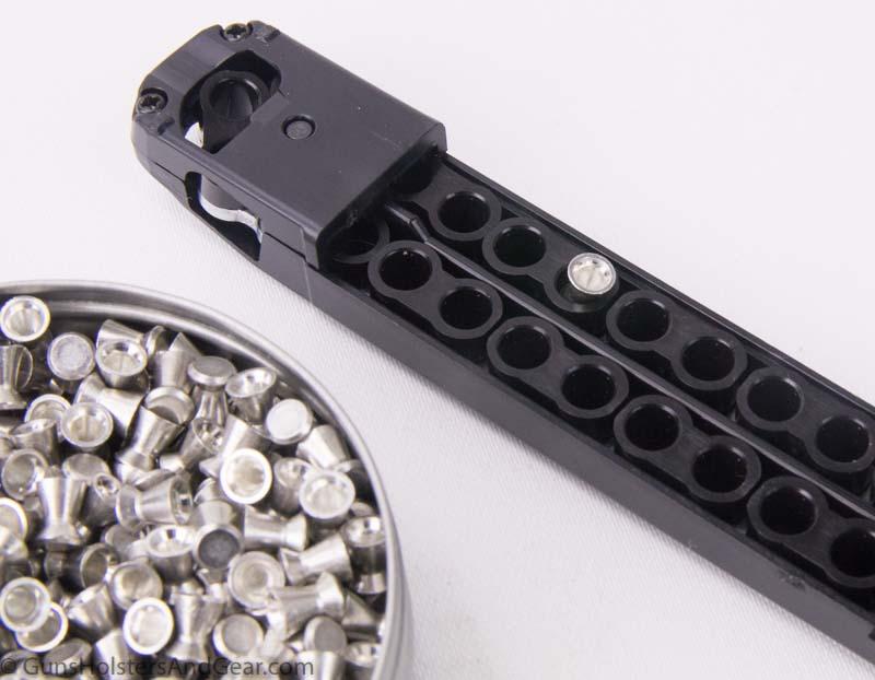 SIG P320 air gun magazine and pellets