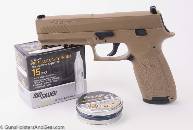 SIG SAUER P320 Air Pistol review