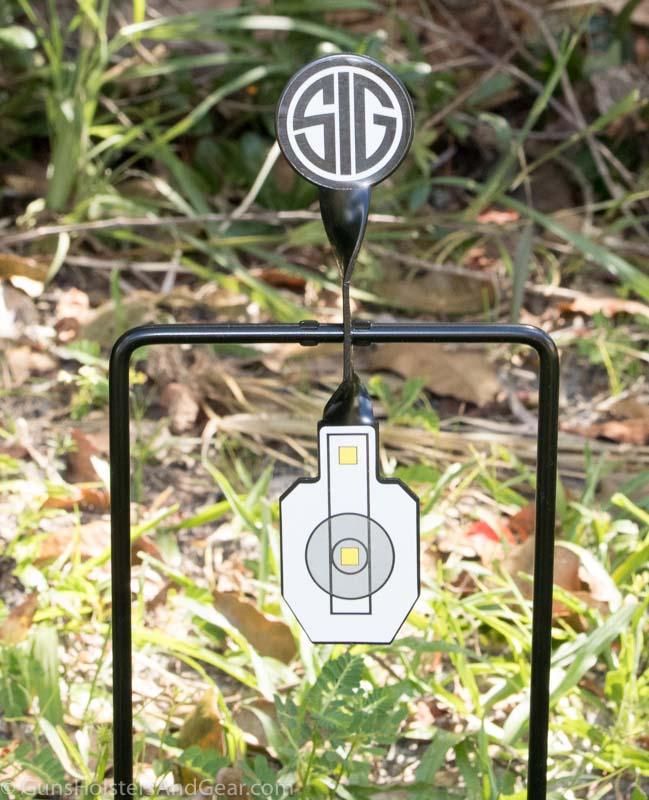 SIG SAUER Reflex Airgun Target size