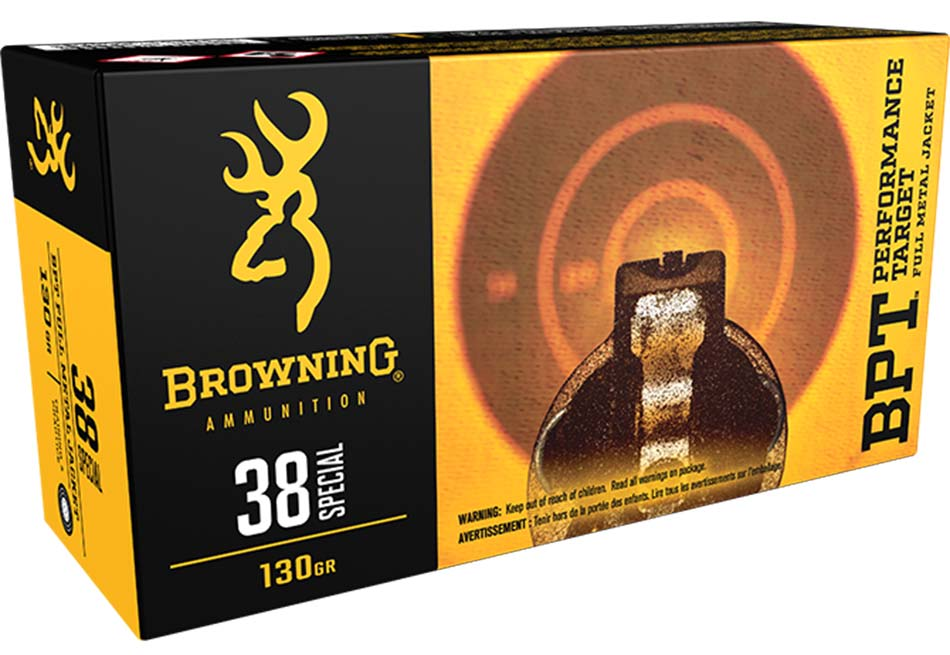 Browning 38 Special ammo