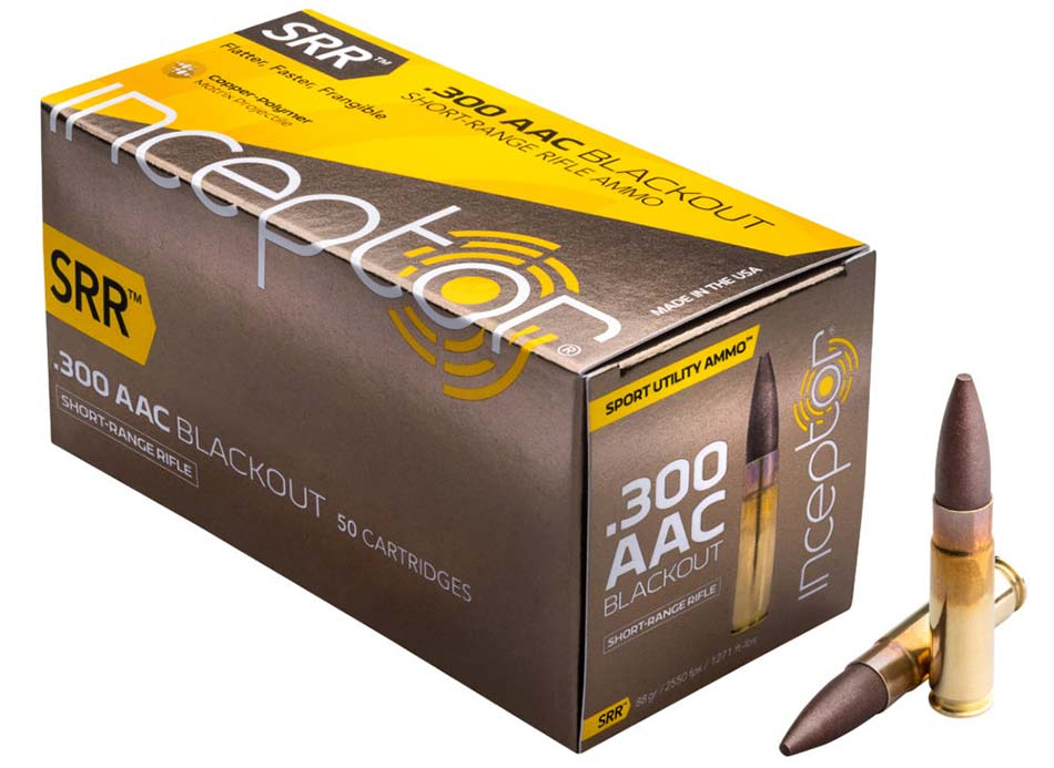 Inceptor Short Range Rifle Ammo