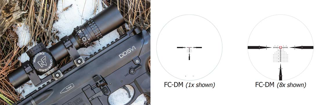 Nightforce ATACR 1-8x24 scope