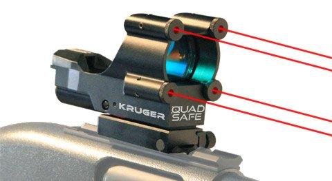 Quad laser sight
