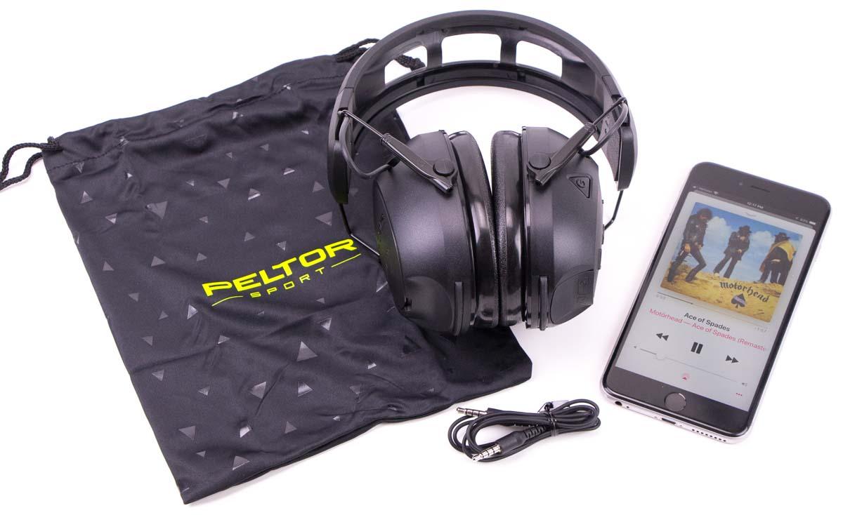 Peltor Hearing Protection Testing music