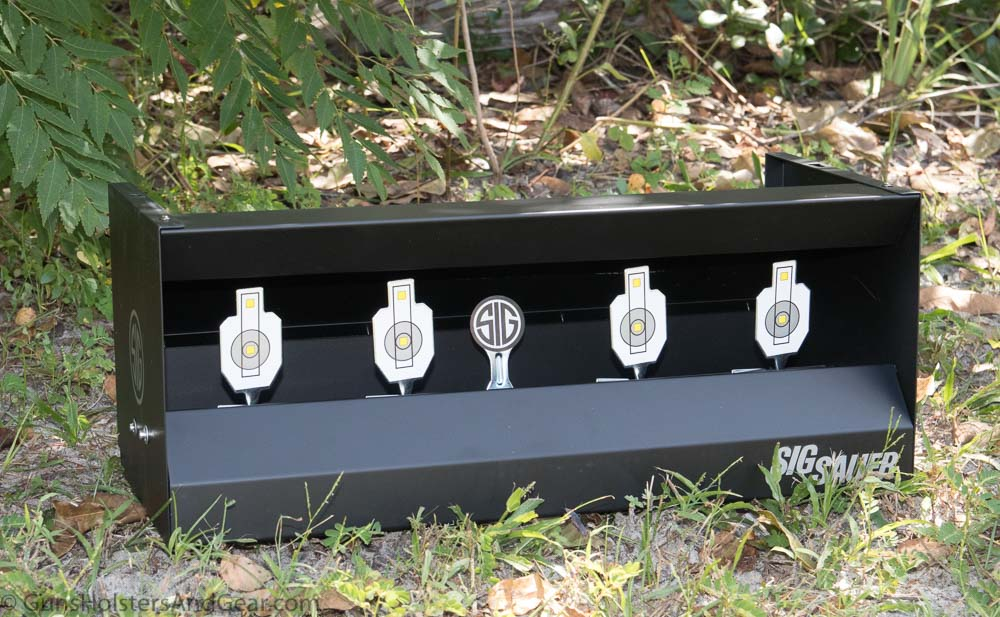 SIG Airgun Quad Shooting Gallery review