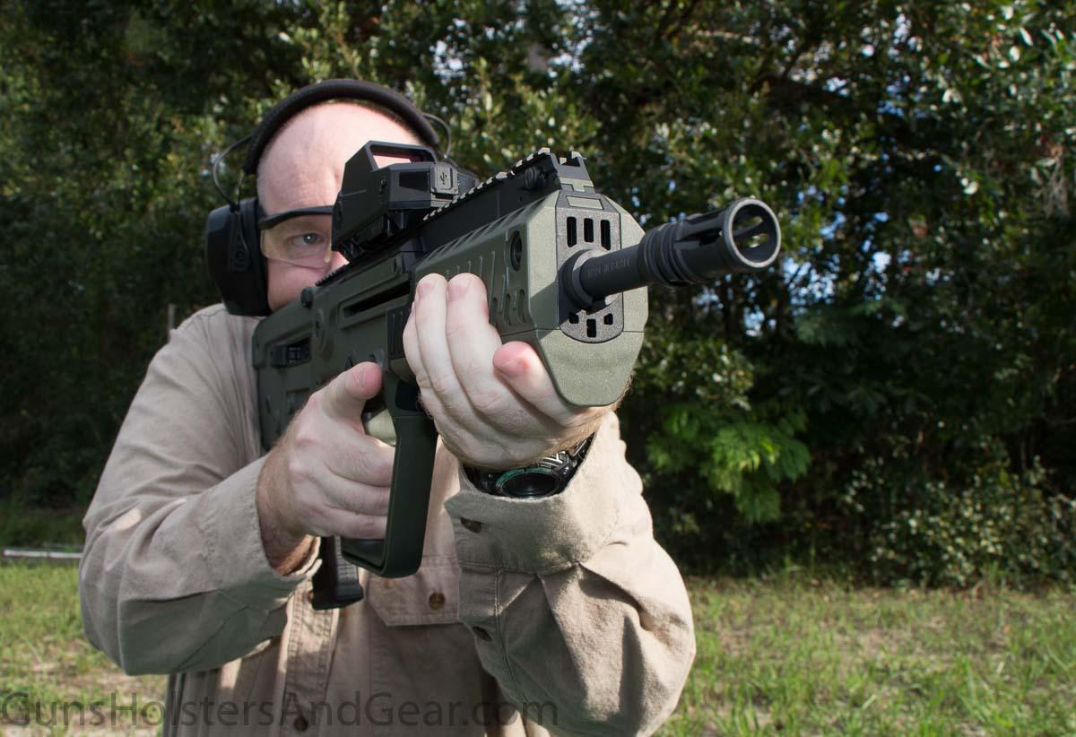 Evaluation of IWI TAVOR X95 Rifle