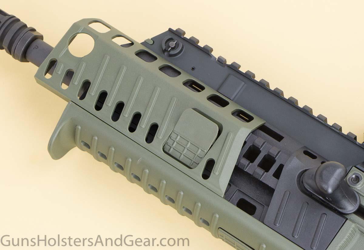 Integral Accessory Rails on X95 Rifle