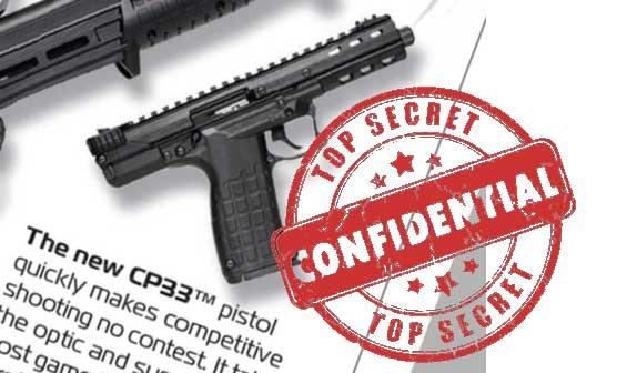 Kel-Tec CP33 Pistol