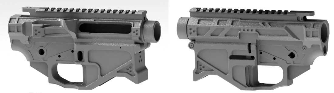 Small Frame AR10 Receiver Set