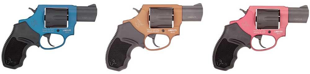 Taurus Revolver Colors