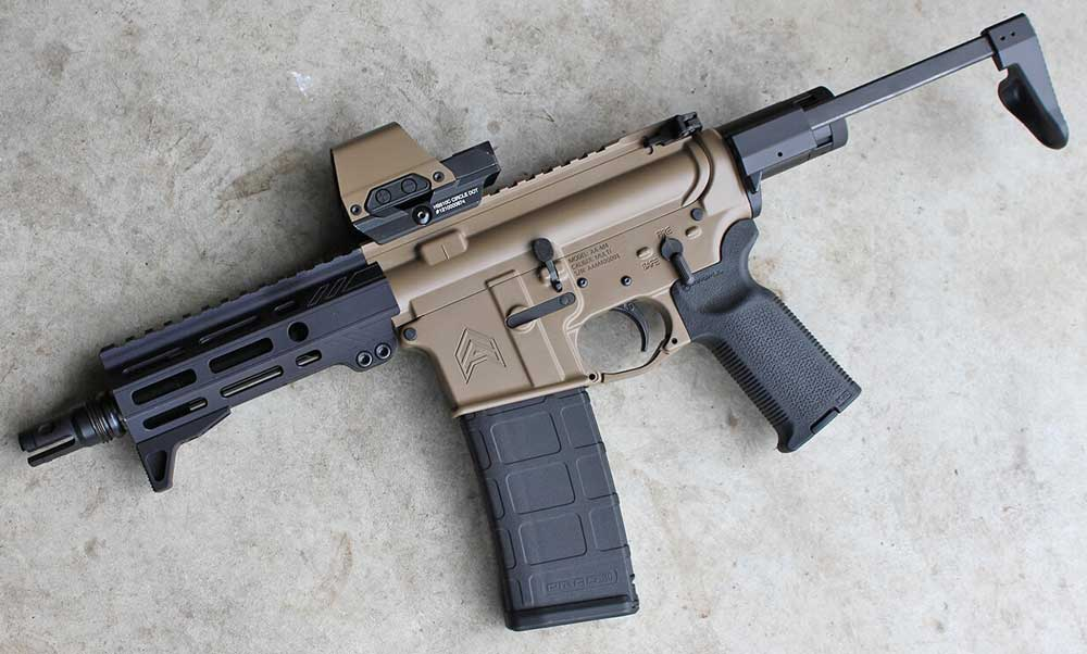 Angstadt Arms Sub Compact Weapon Stock SCW Open