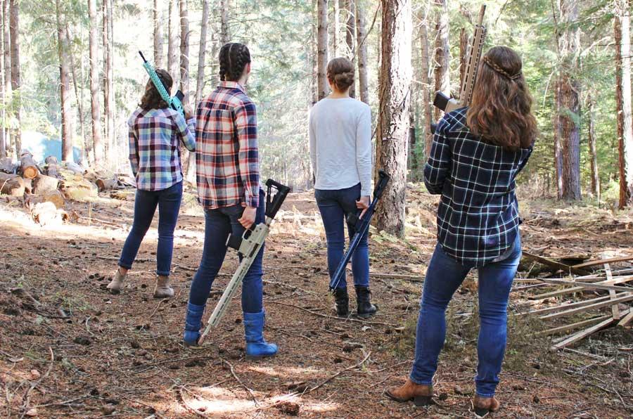 LV Seven AR-15 Rifles for Women
