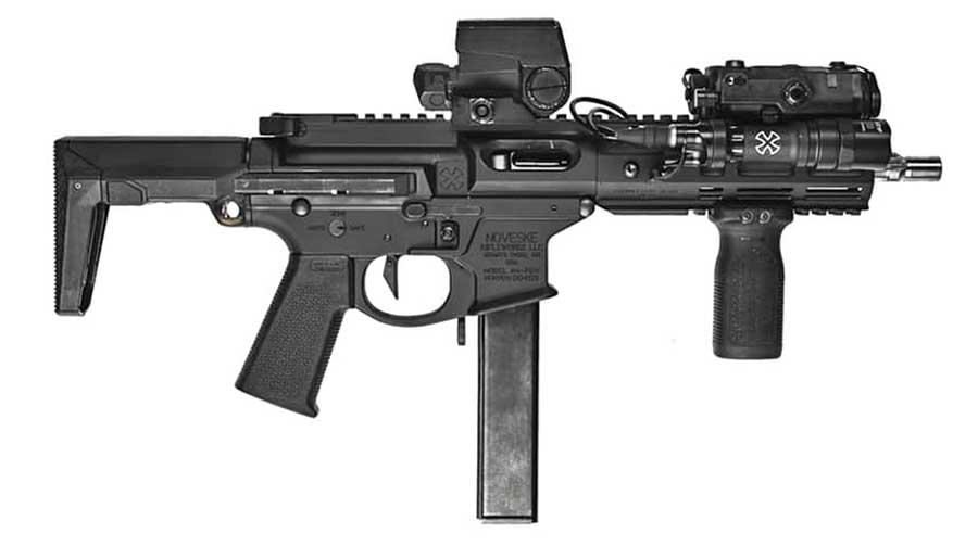 Noveske Space Invader 9mm Rifle SBR