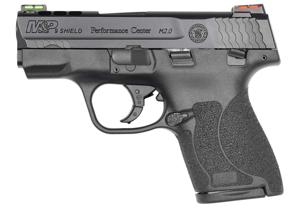 Smith and Wesson Performance Center Shield Ported 9mm