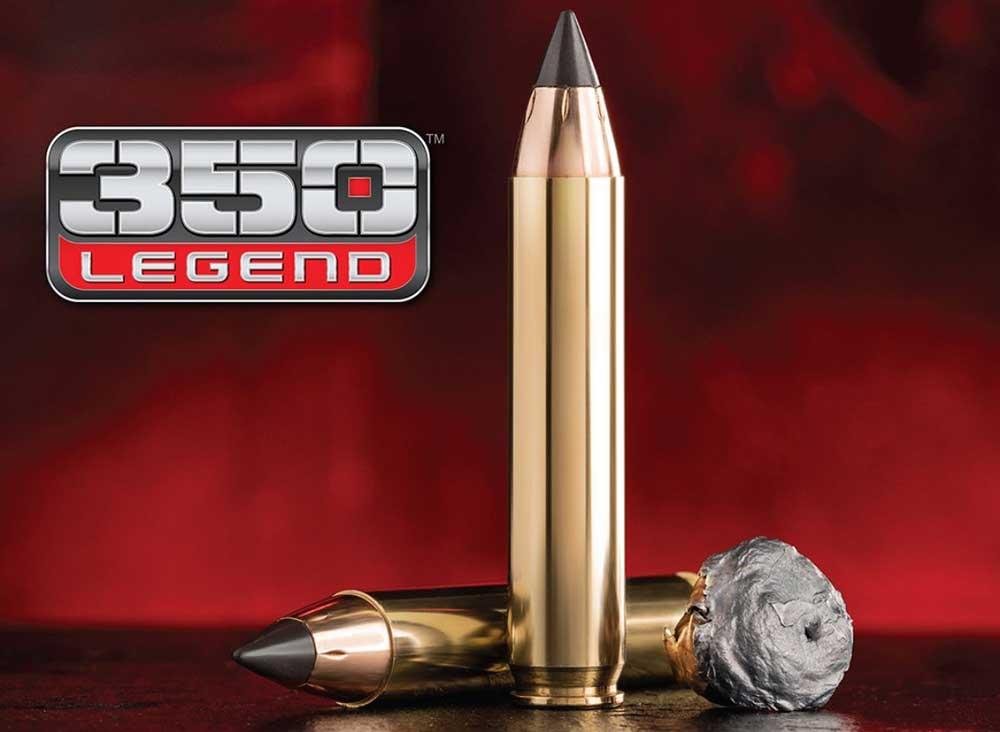 Winchester 350 Legend cartridge