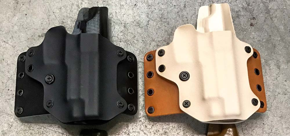 Black Point Leather Wing Concealed Carry Holster for AM2 Handgun