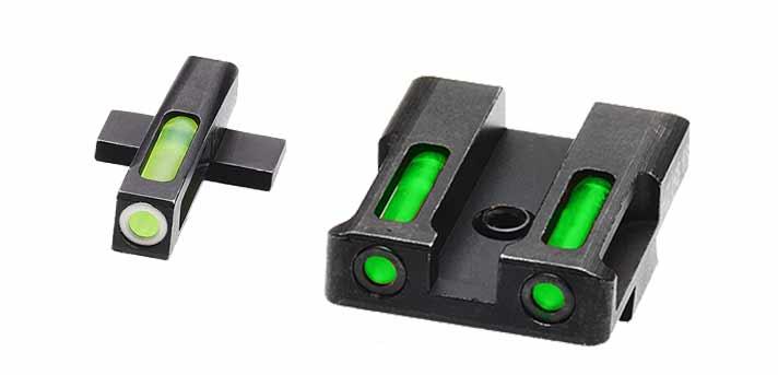 HiViz Litewave H3 Sights for Springfield Armory XDS Pistol