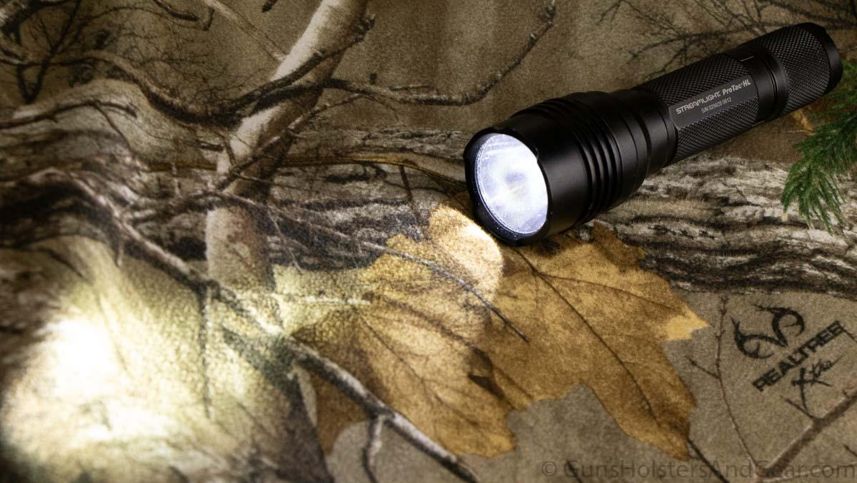 Light Beam of ProTac HL flashlight