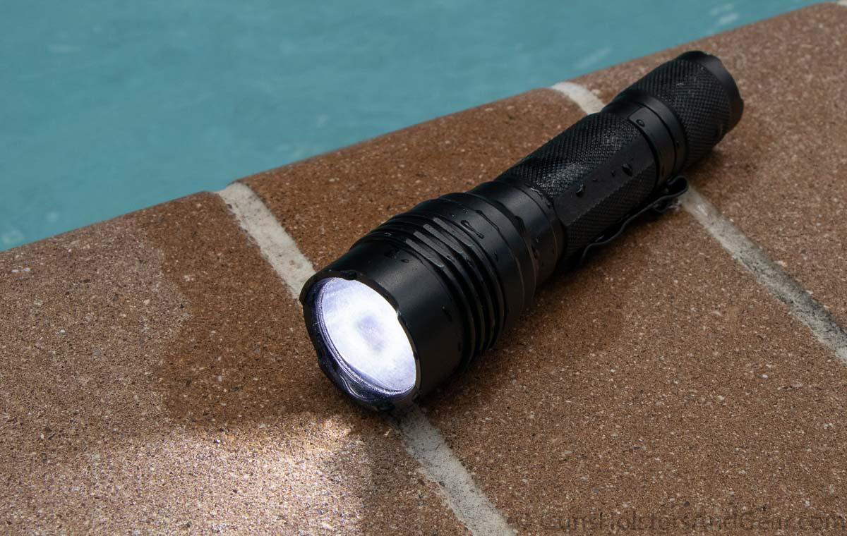 Streamlight ProTac HL Waterproof Testing