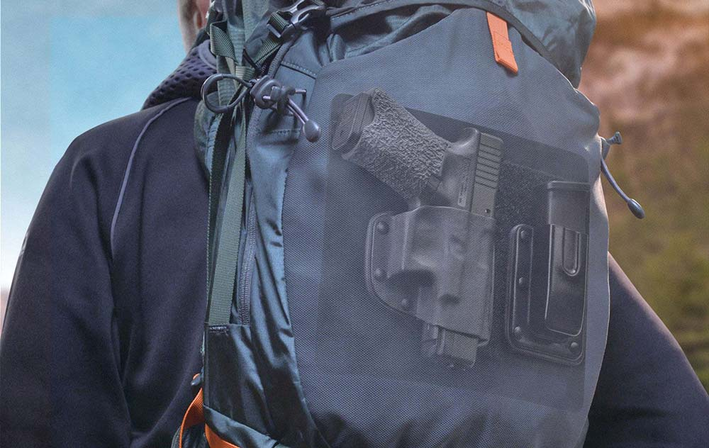 Backpack Holster for Diamondback AM2 from CrossBreed