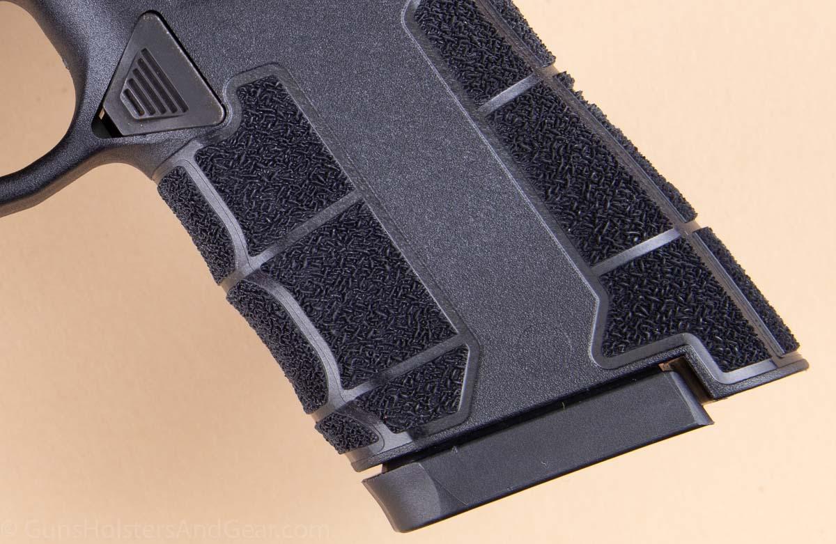 Grip Texture of Diamondback AM2 Pistol